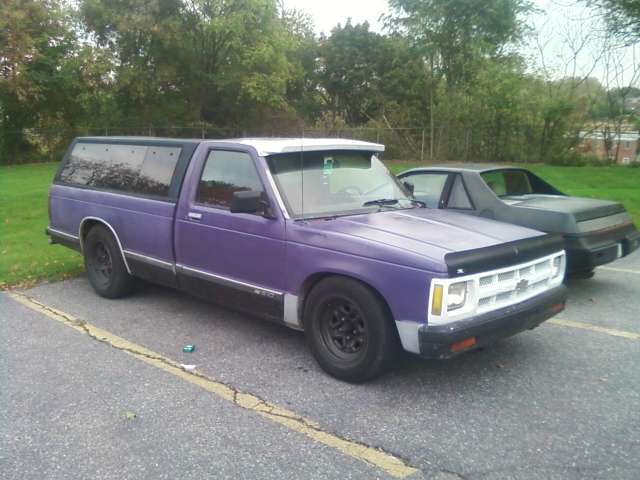 1991 Chevrolet S10 Regular Cab