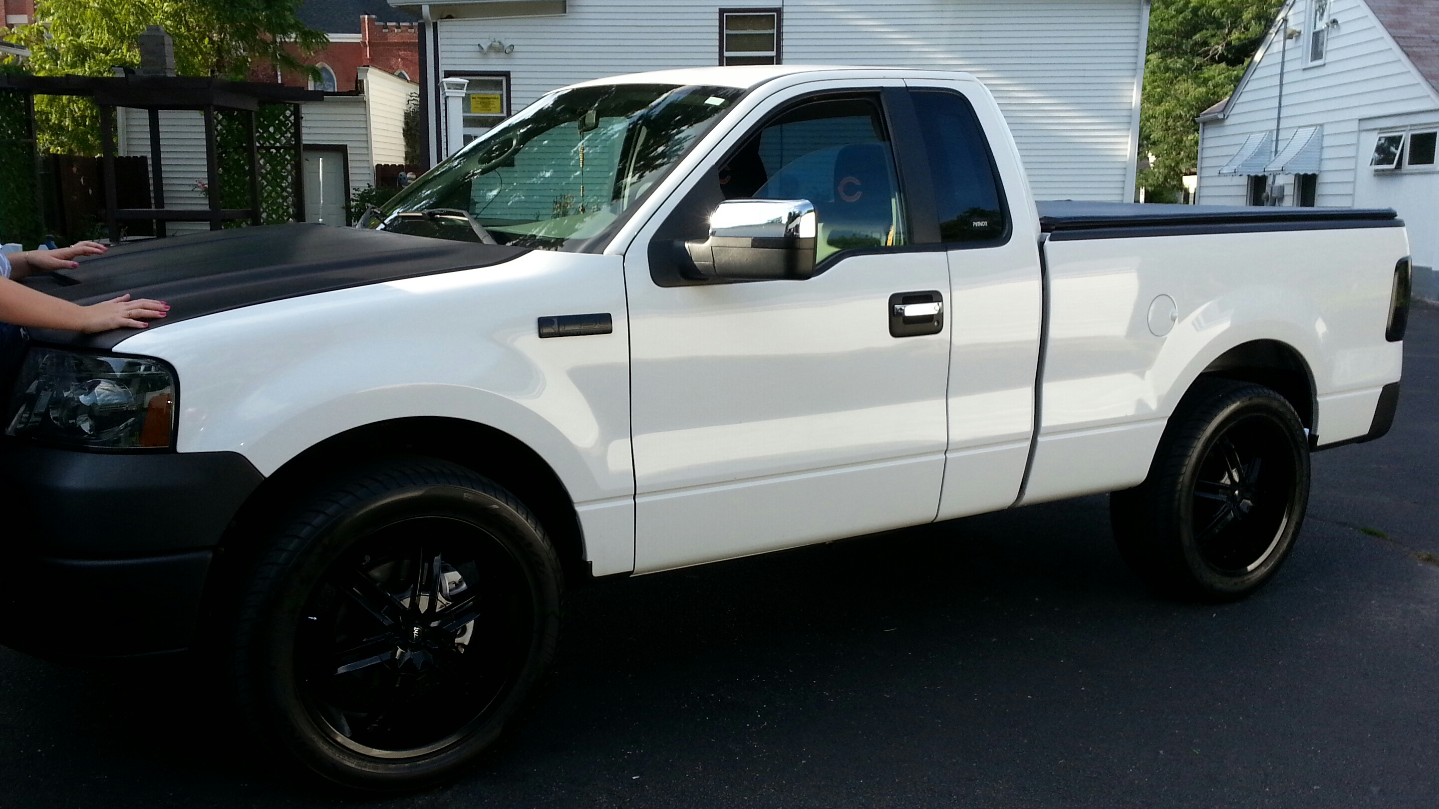 2007 Ford F150-Regular-Cab